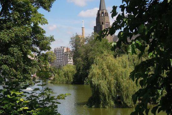 Balade Art Nouveau et Art Déco aux Etangs d'Ixelles – COMPLET